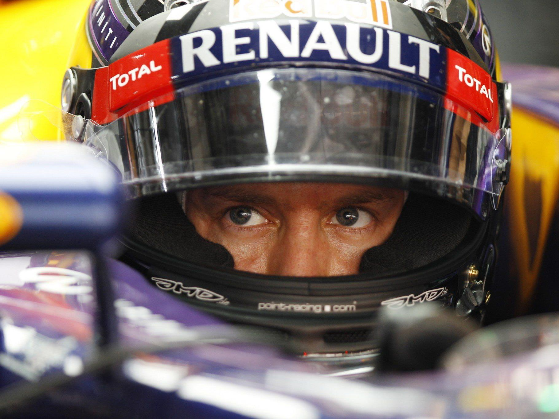 Vettel: Akribische Arbeit auch als vierfacher Champion.