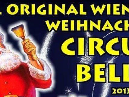 Circus Belly sorgt ab 20. Dezember für Weihnachtsstimmung in der Manege in Wien.