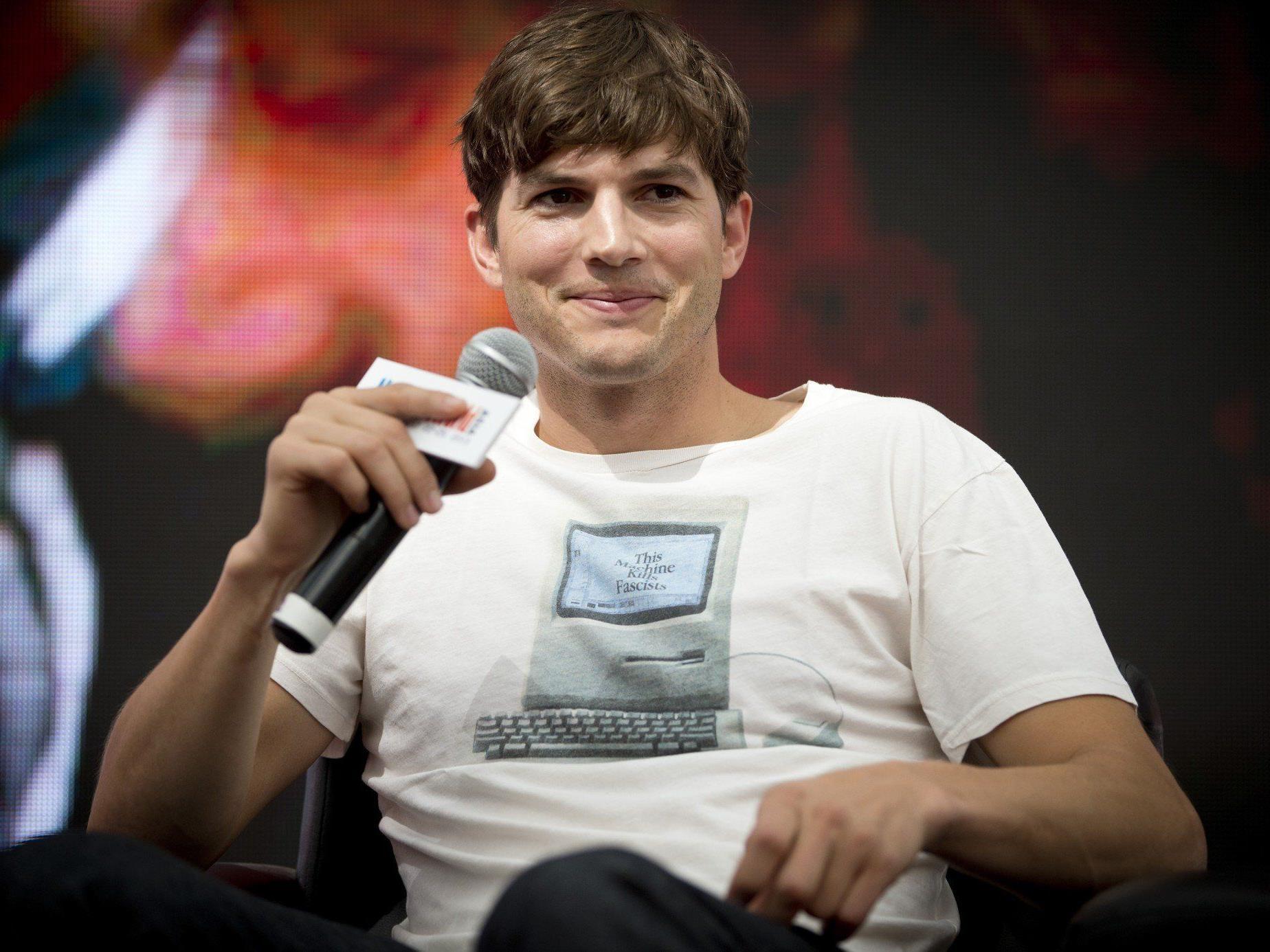Ashton Kutcher zählt zu den bestbezahltesten Schauspielern im TV-Fernsehen.
