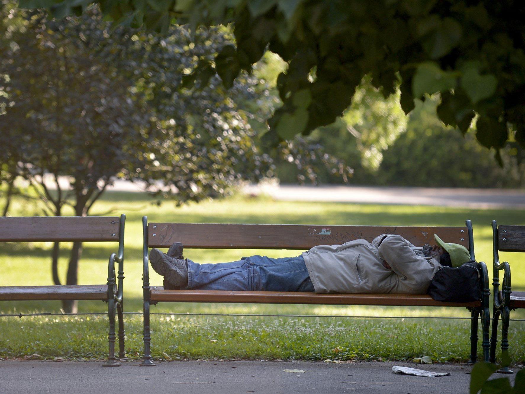 Zu wenige Schlafstellen für Obdachlose in Wien
