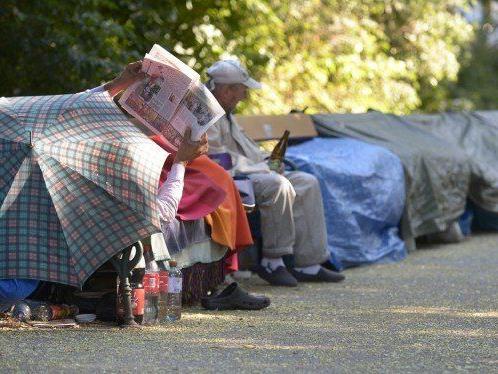 Obdachlose im Wiener Stadtpark: Runder Tisch am Montag