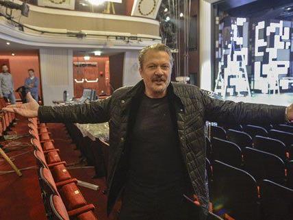 Im Endspurt des Umbaus der Wiener Kammerspiele bleibt Direktor Herbert Föttinger optimistisch.