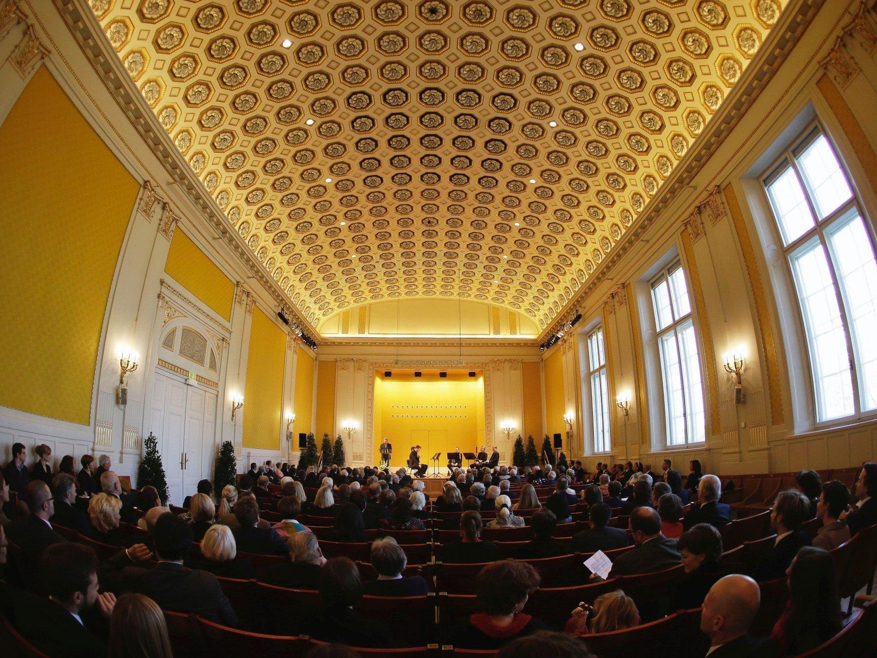 Wiener Konzerthaus startete 100-Jahr-Feiern