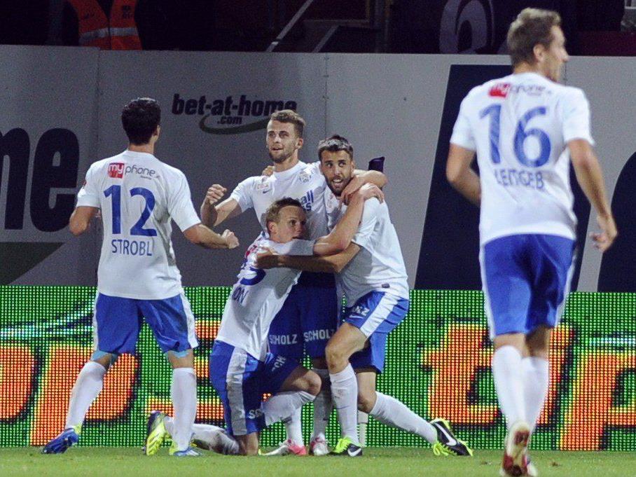 LIVE: SV Grödig gegen SK Sturm Graz im Fußball-Ticker.