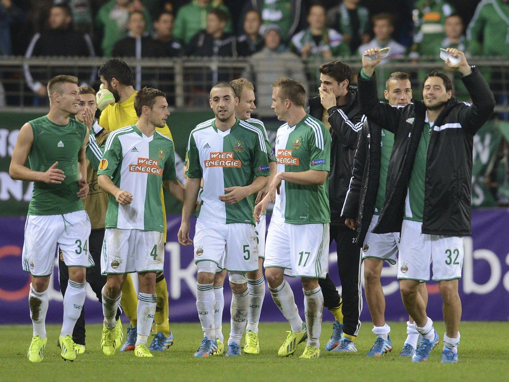 Die Stimmen zum Spiel KRC Genk gegen SK Rapid Wien: Freude bei Rapid in der Europa League.