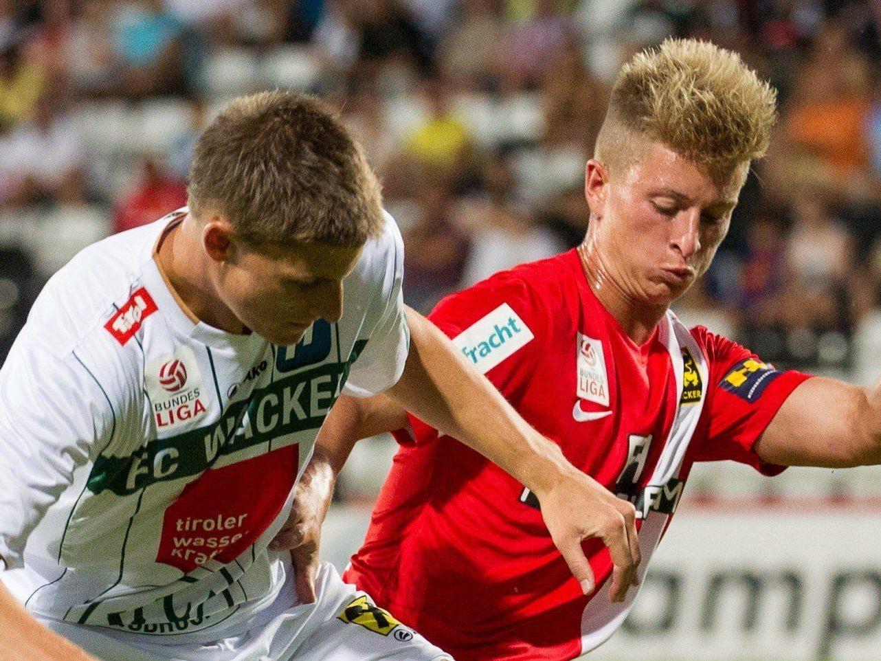LIVE: Das Spiel zwischen FC Wacker Innsbruck und FC Admira Wacker Mödling im Ticker.