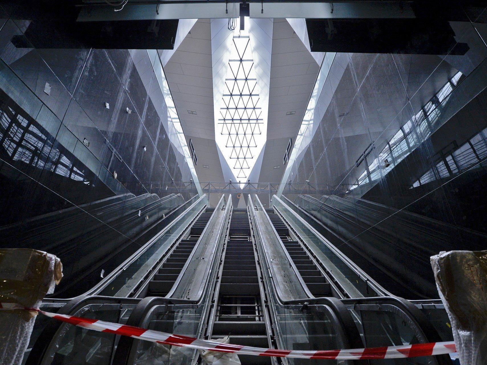 Wiener Hauptbahnhof: Rohbau der Halle steht, nun kommt das Dach