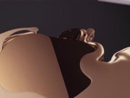 Im neuen Werbespot formt sich das iPhone 5S aus flüssigem Gold.