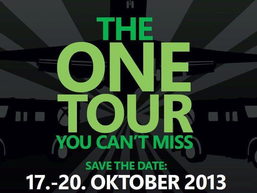 Die Xbox One-Tour macht von 17. bis 20. Oktober Halt in Wien.