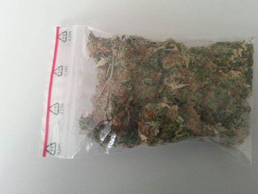 Ein junger Mann wurde in Simmering mit Cannabis erwischt