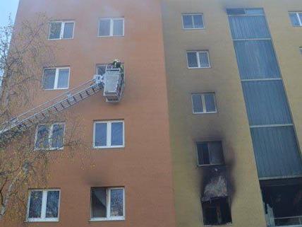 Am Montag musste ein Mehrparteienhaus in Neunkirchen wegen eines Brands evakuiert werden.