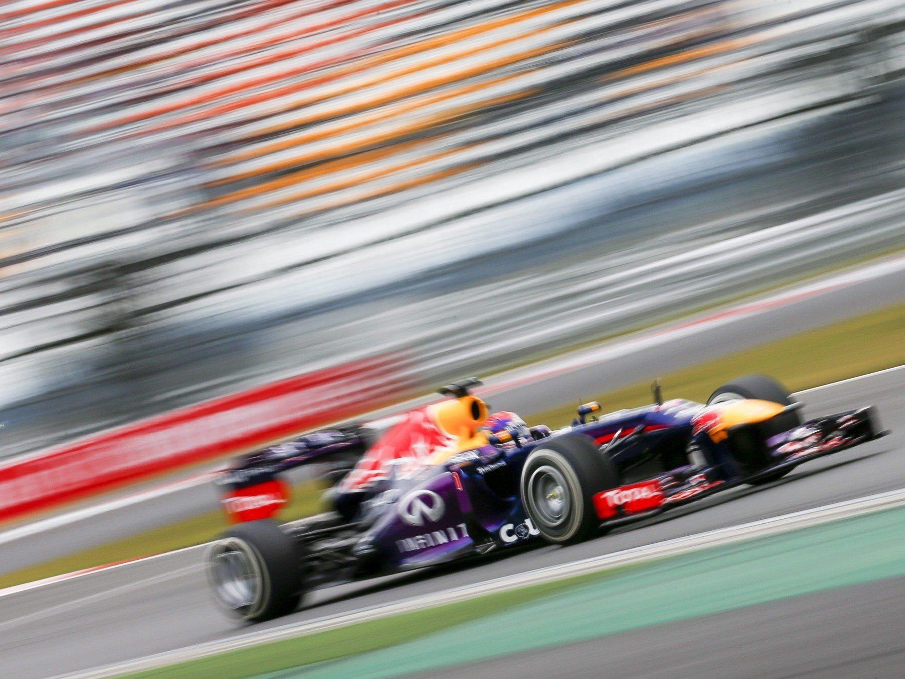 Mit Vollgas auf Weltmeister-Kurs: Sebastian Vettel könnte sich seinen vierten Titel schon nächste Woche in Japan sichern.