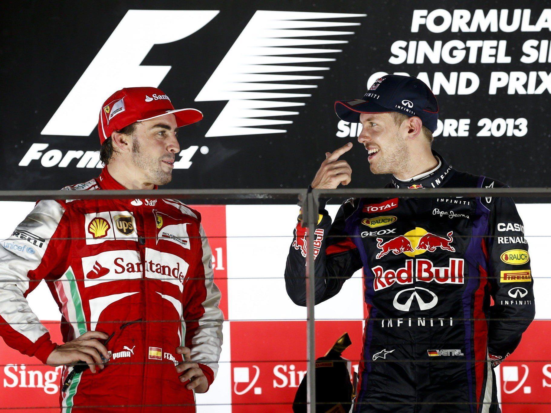 Für Hamilton sind in der kommenden Saison Alonso und Räikkönen die beste Fahrerpaarung.