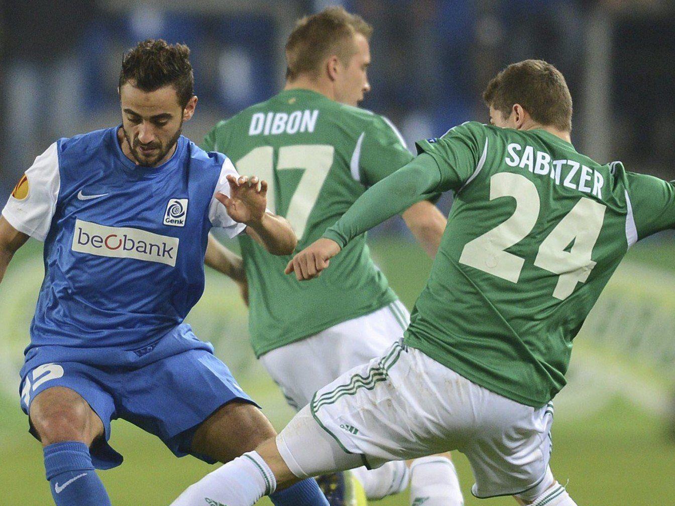 Rapid Wien erkämpfte sich gegen Genk einen Punkt in der Europa League.