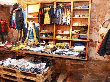 Der Shop auf der Mariahilfer Straße in Wien.