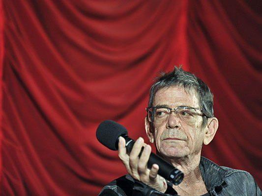 """Lou Reed nach der Premiere des Filmes """"Red Shirley"""" im Rahmen der Viennale am 2. November 2010 in Wien"""