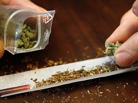 Ein junger Mann wurde bei einer Lokalkontrolle mit einer großen Menge Cannabis erwischt