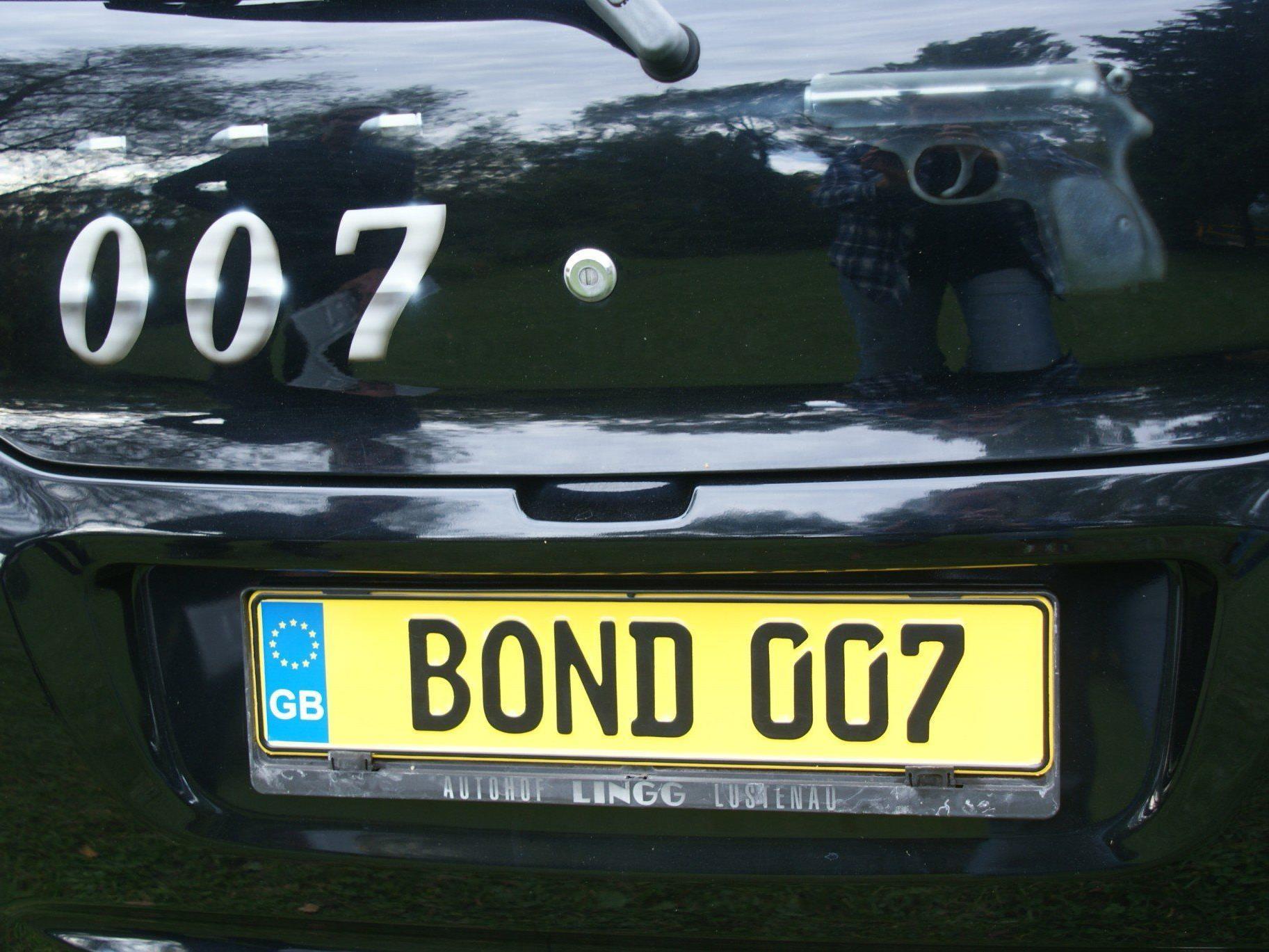 Ein Bond in Lustenau!