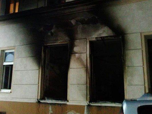 In diesem Haus brannte es