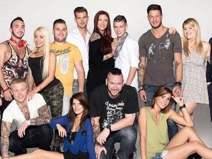 """Der Cast von """"Wien - Tag und Nacht""""."""