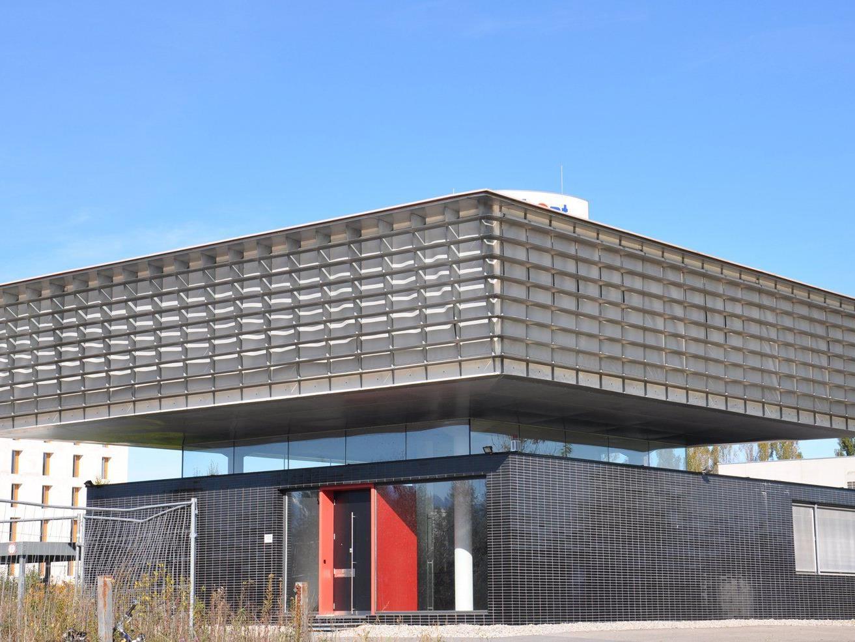 Das markante Gebäude wird nächstes Jahr auch ein Baristazentrum und Café beherbergen.