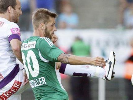 Die Wiener Austria will ihre Erfolgsserie gegen Rapid im Derby fortsetzen.