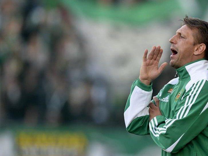 Rapid Wien konnte gegen Sturm Graz mit zwei verwandelnen Elfmetern noch einen Punkt holen.