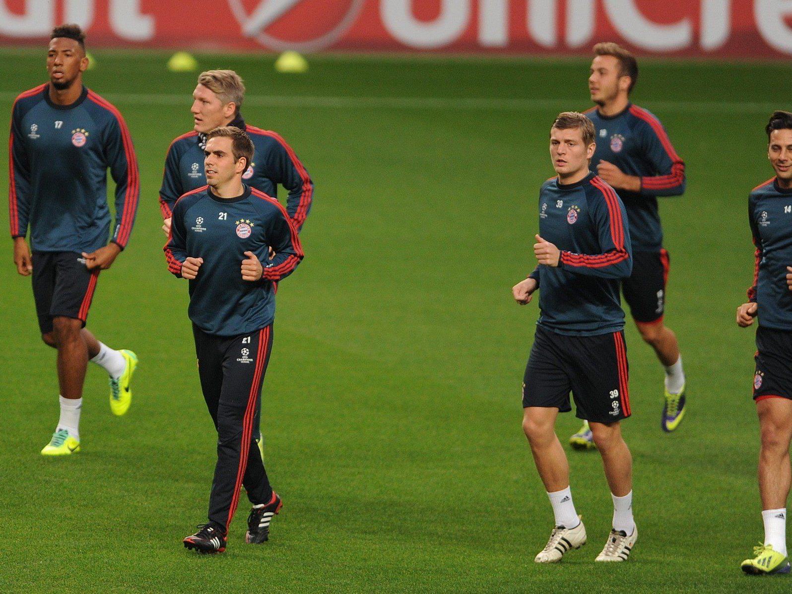Bayern wollen den Gruppensieg.