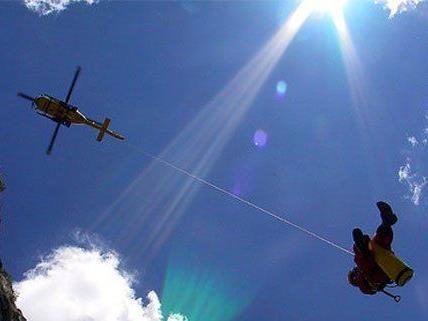 In Niederösterreich kam es zum Hubschraubereinsatz.
