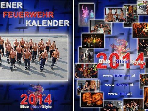 Der neue Kalender der Wiener Berufsfeuerwehr ist da.