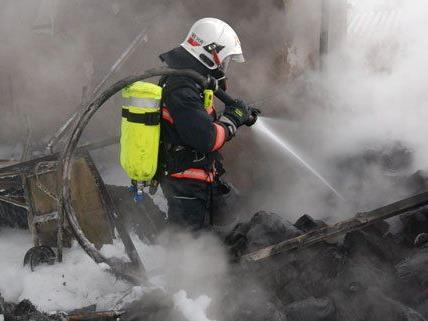 In Wien-Landstraße kam es am Sonntag zu einem Zimmerbrand.