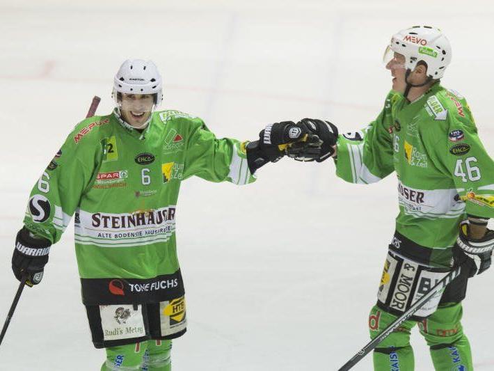 Der EHC Lustenau steht vor zwei schweren Spielen und will den Erfolgslauf prolongieren.