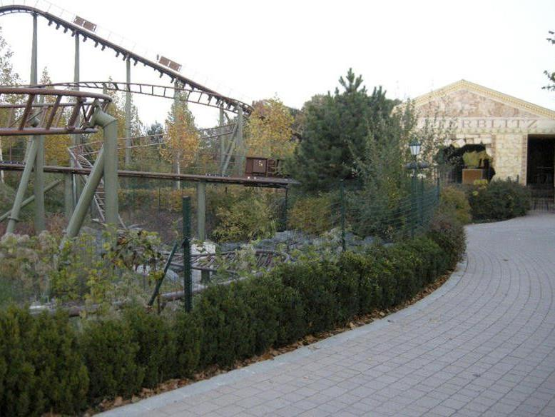 Schwerer Unfall bei der Achterbahn im Family-Park Neusiedler See.