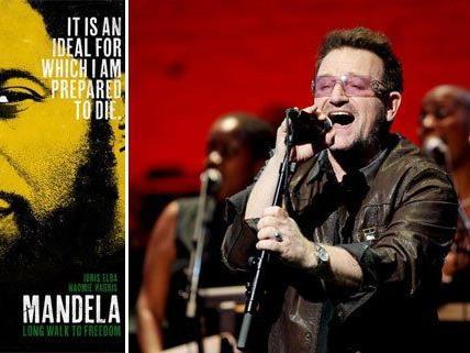 U2 mit neuem Song zum Mandela-Fan.