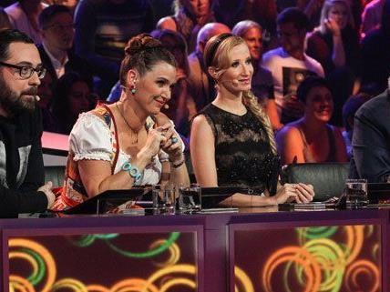 Die Jury freut sich bereits auf das Halbfinale.