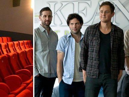 Den Auftakt der neuen Cinplexx-Eventreihe Live@Goya machen am 6. November Keane.