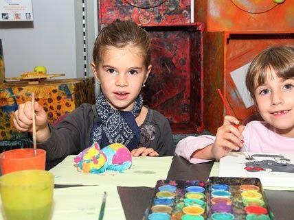 Auch für Kinder werden Workshops bei der Kreativmesse angeboten.