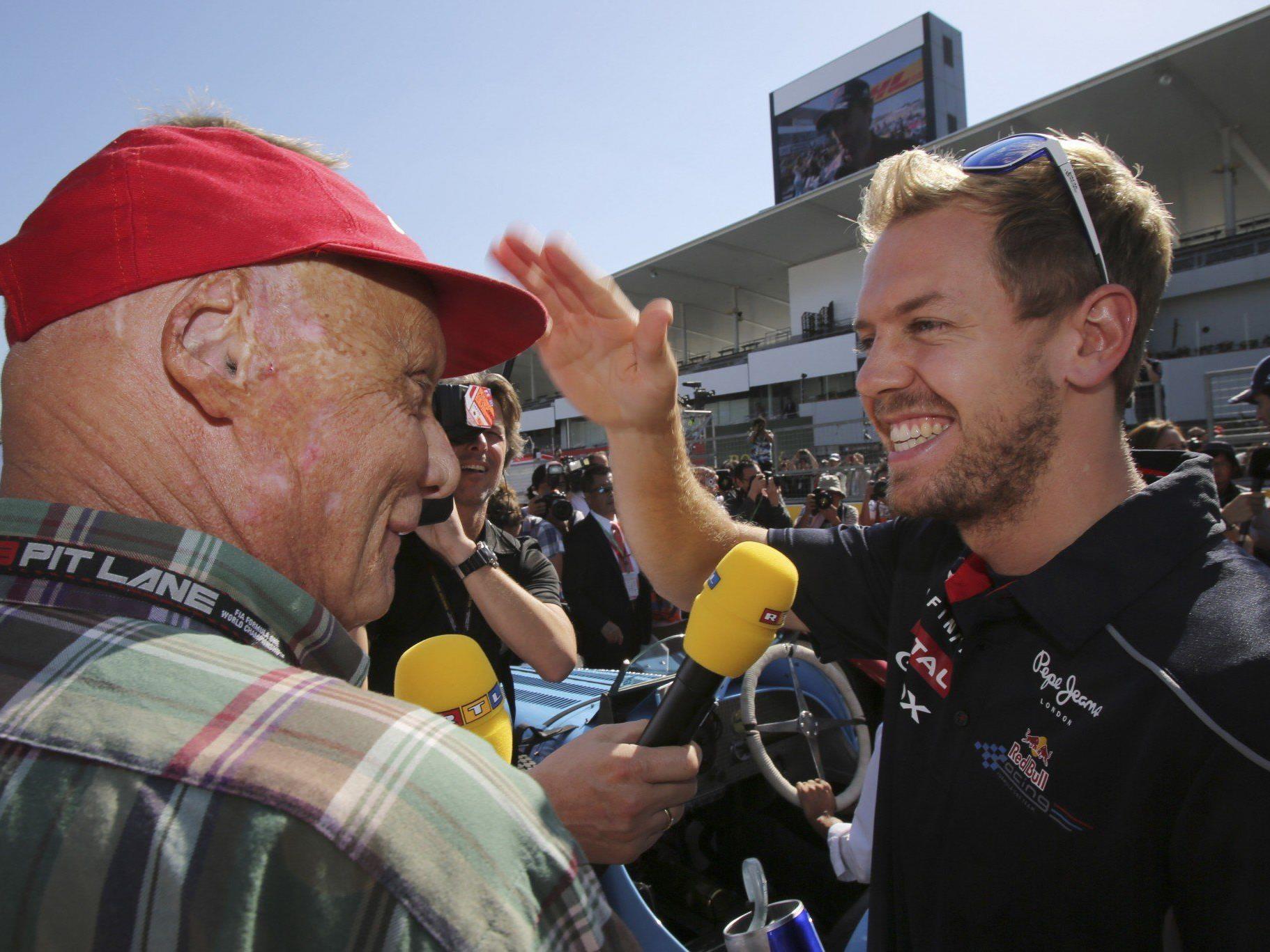 Lauda traut Sebastian Vettel noch einiges mehr zu.