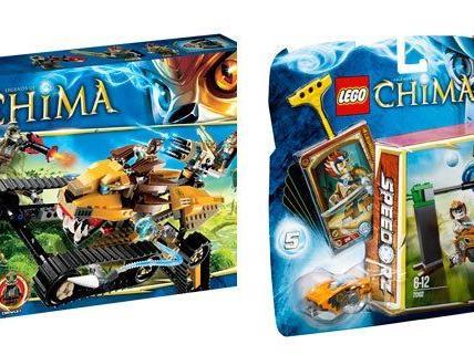 """""""Legends of Chima"""" heißt die neue Themenwelt von LEGO."""