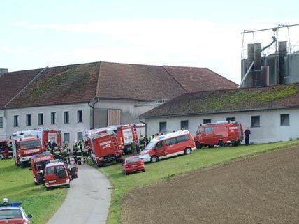 150 Einsatzkräfte waren vor Ort, um das Feuer zu löschen.