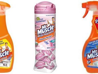 Eines von drei Mr Muscle Produkt-Packages gewinnen!