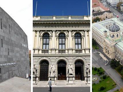 Im November eröffnen zahlreiche sehenswerte Ausstellungen in Wien, unter anderem im mumok, Künstlerhaus und im NHM.