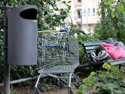Obdachlose im Wiener Stadtpark wurden vertrieben.
