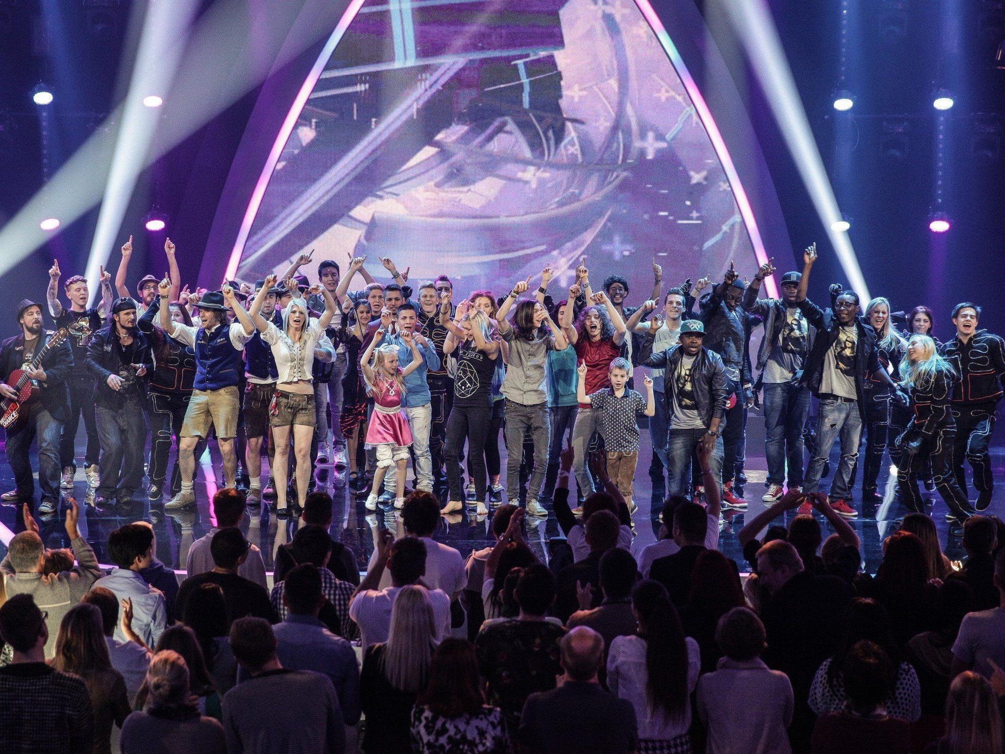 """Bis zu 776.000 sahen die erste """"Große Chance""""-Live-Show"""