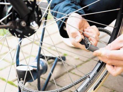 Mehr als 2.000 Fahrräder wurden bei der Radrettung kontrolliert.