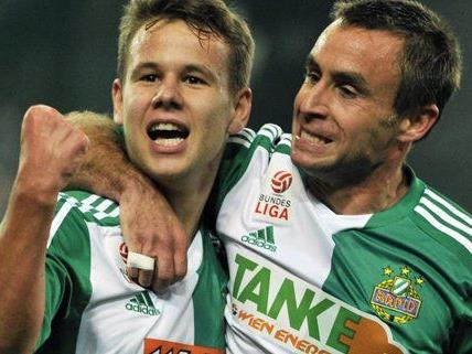 Rapid Wien hofft, dass die Freude gegen Kiew etwas länger anhalten wird.