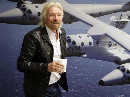 Sir Richard Branson stattet Wien einen Besuch ab.