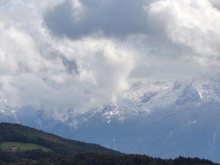 In höheren Regionen kann es bereits in dieser Woche Schnee geben.