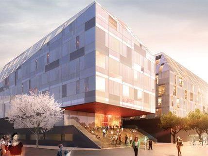 So soll das neue Gebäude der Siegmund Freud Uni aussehen.