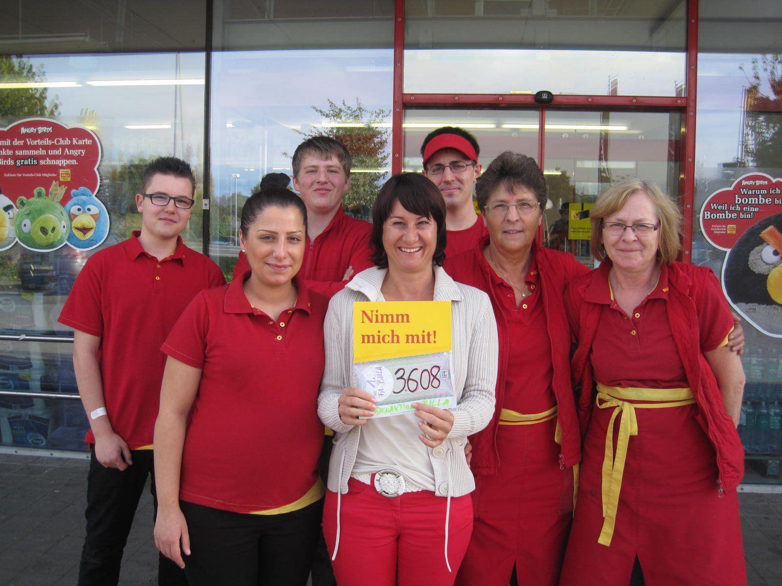 Geben für Leben Obfrau Susanne Marosch konnte einen Scheck von 3608 Euro in Empfang nehmen.